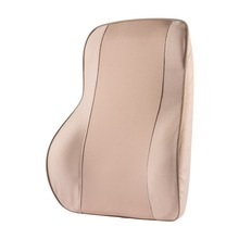 1x Car Seat Supports Office Home Memory Foam Seat Chair Waist Lumbar Back Support Cushion