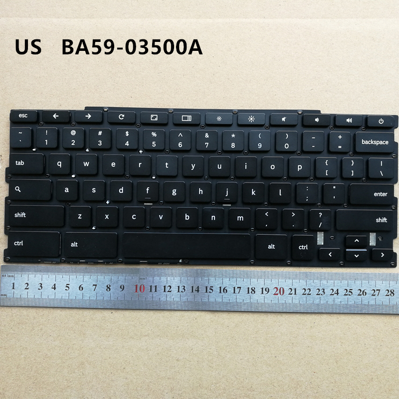 US new laptop keyboard for SAMSUNG Chromebook XE303C12 BA59-03500A English black