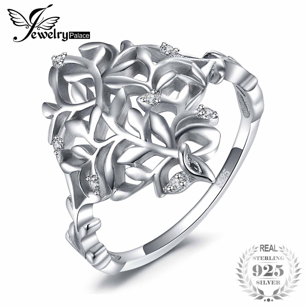 JewelryPalace 925 Sterling Silver Vintage Hollow FiligreeCubic Zirconia Statement Ring For Women New Hot Sale As GiftsJewelryPalace 925 Sterling Silver Vintage Hollow FiligreeCubic Zirconia Statement Ring For Women New Hot Sale As Gifts