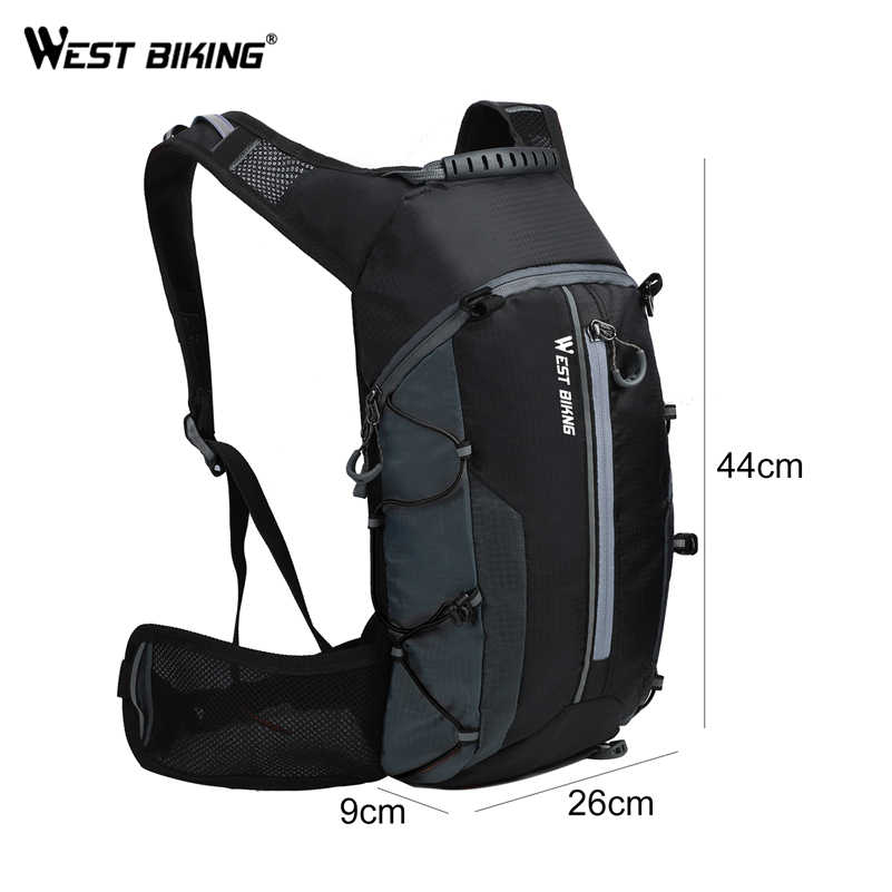 bc4bc58c0c6 ... WEST BIKING Bike Bag Breathable 10L Ultralight Portable Folding Bicycle  Backpack Waterproof Cycling Hiking Water Bag ...