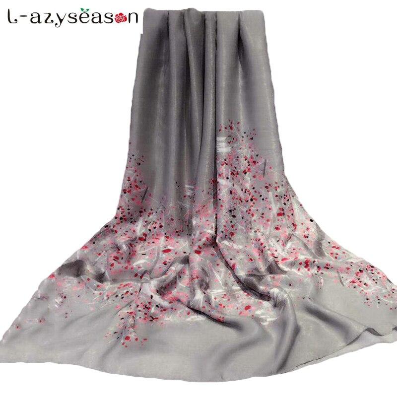2017 New Designer Women Scarf Luxury Brand Fashion Print Quality Silk Cashmere Feeling Winter Scarves Shawls Wraps Bandana