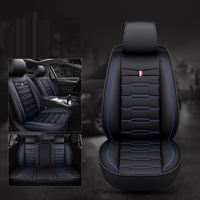 Universal car seat cover leather for Audi A6L R8 Q3 Q5 Q7 S4 Quattro A1 A2 A3 A4 A6 A8 car accessories car styling sticker