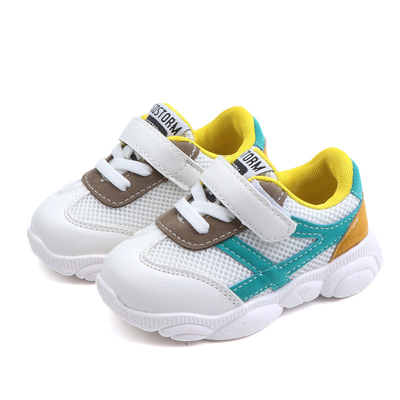 New Kids Shoes Boys Children'S Shoes Buty Led Light Mesh Breathable Melissa  Girls Shoes Tipsie Toes