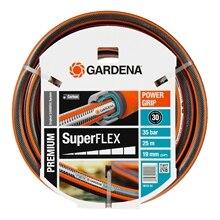 Шланг поливочный GARDENA 18113-20.000.00 (Длина 25 м, диаметр 19мм (3/4), максимальное давление 35 бар, армированный, светонепроницаем, устойчив к ультрафиолетовому излучению)