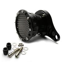 For Harley Sportster 883 1200 XL 48 2004 UP Motorcycle Black Velocity Stack Air Cleaner Intake Filter CNC Aluminum