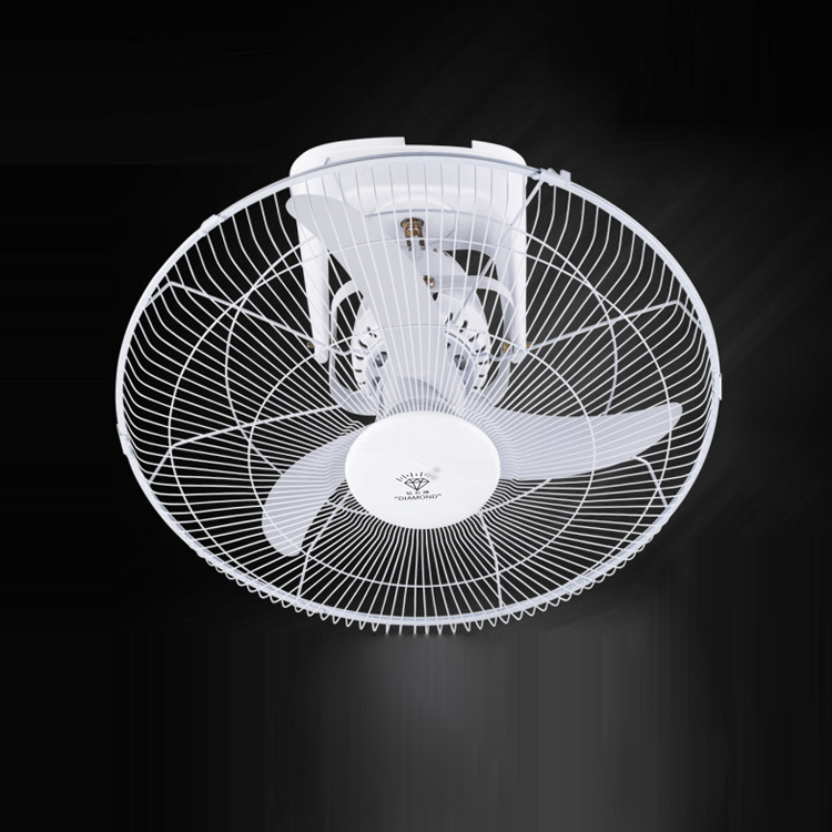 3 Leaves Iron Ceiling Fan Cooling Fan White Silent Electric Ceiling Fan  household Ceiling fan with wall control