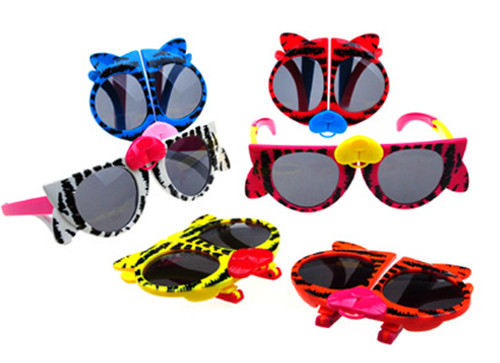 f9b92a9aac Animal Sun Glasses for Toddlers Kids Plastic Frame Sunglasses Girls and  boys Baby tiger Eye Shades Goggles Eyewear UV400-in Sunglasses from Mother    Kids on ...