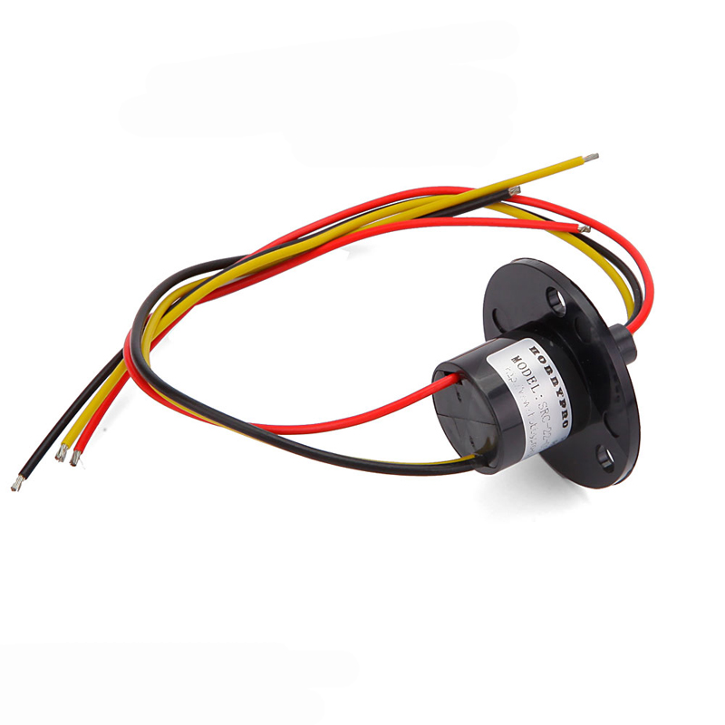 1PC High Current Slip Ring <font><b>3</b></font> Channels <font><b>10A</b></font> Collecting Electric Collector <font><b>s</b></font> Support Power Equipment for RC Model image