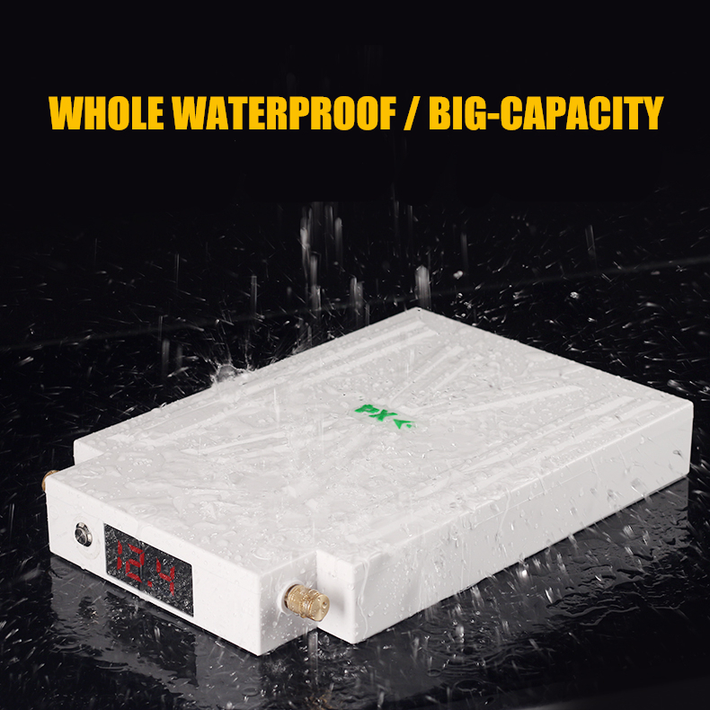 High power 100% waterproof 12V 50AH/60AH/70AH/80AH/<font><b>100AH</b></font> Li-polymer Li-pol <font><b>Battery</b></font> for inverter/<font><b>car</b></font> start/ emergency power bank image