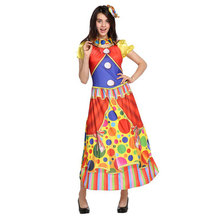 Umorden Womens Belle Of The Big Top Circus Costume Clown Costumes Halloween Purim Carnival New Year Party Cosplay Dress Up