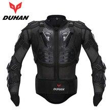 DUHAN Motocross Racing Profesional Completo Body Armor Spine Protectora Pecho Gear conductores de Motocicletas Cuerpo de la Guardia de Protección