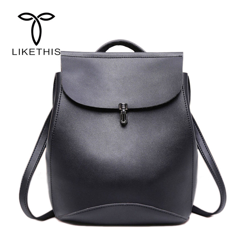 Fashion Backpack Quality Leather Backpacks For Teenage Girls Main Women  Backpack School Mochilas Escolar Shoulder Bags  Jy-f10