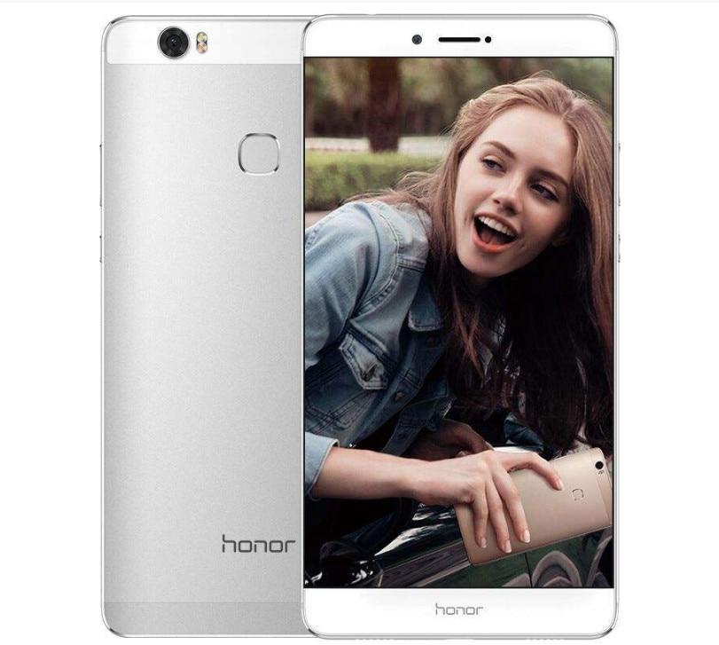 Оригинальный huawei Honor Примечание 8 смартфон 4G RAM 64g ROM Kirin 955 Octa Core 6,6 дюймов экран 2k 2560*1440 Android 6,0 4500 мАч 13MP