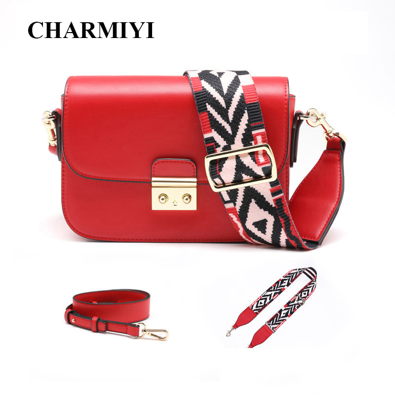 CHARMIYI Design Small Women Shoulder Bags 2018 Classic Flap Bag for Women Chic Chain Crossbody Bag Girls Fashion Leather Handbag 2017 120cm diy metal purse chain strap handle bag accessories shoulder crossbody bag handbag replacement fashion long chains new