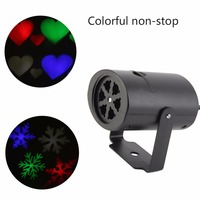 LED Graphic Laser Projection Lamp Projector Light Snowflake Landscape Garden Projector Wall Lamp US UK EU