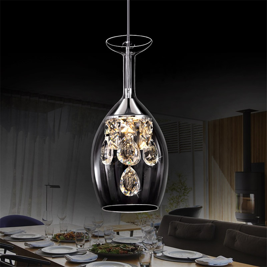Post-modern crystal decoration Hang lamps pendant lights led lights for home nordic pendant light fixtures loft style hanging title=
