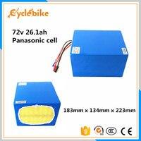 72 v 26.1ah NCR18650PF 5000 w bicicleta elétrica da bateria de lítio celular