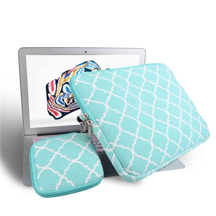 Lantern picture green Canvas Laptop Sleeve Case for macbook air 13 pro retina 13 pc Bag for 13.3inch Ultrabook with mouse bag
