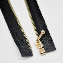 Bjd boneca vestuário acessórios 0 # metal zíper de extremidade aberta pullip