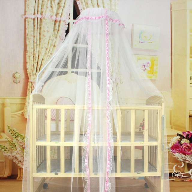 3 Colors New baby bed Home mosquito net Cute Baby Princess Canopy