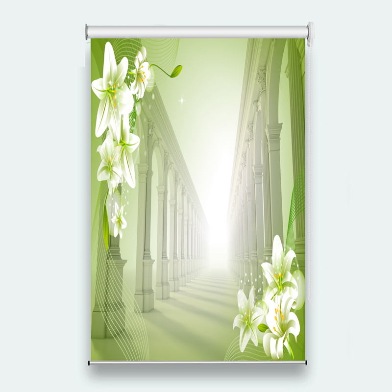 awesome light green living room curtains   New Custom 3D Beautiful window curtain for living room ...