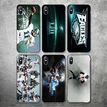 Yinuoda Philadelphia Eagles Phone Case NFL Desean Jackson For iPhone DIY Black Soft TPU Cover X XR XS MAX 7 8 7plus 6 6S 5S 5 SE