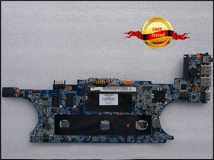 Top quality , For HP laptop mainboard ENVY13 538317-001 laptop motherboard,100% Tested 60 days warranty цены онлайн