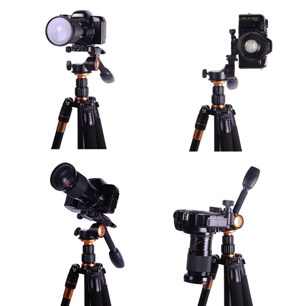 QZSD-Q08-Aluminum-Video-Tripod-Ball-Head-3-way-Fluid-Head-Rocker-Arm-with-Quick-Release (5)