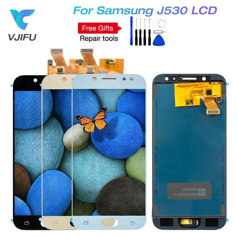 VJIFU J530F LCD para Samsung Galaxy J5 2017 Pro J530F/DS J530Y/DS digitalizador de pantalla táctil pantalla para J5 (2017) duos