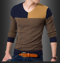 Pullover Men Special Offer Hot Sale Dress 2015 Spring Sweater At The End Of Version Of Men's Slim-fit City Boy Sweaters Sale