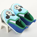 2017 Encantadores Infantil Chicos Gilrs Historieta Prewalker Zapatos del niño Recién Nacido Suaves Zapatos de Bebé de Suela Blanda Bebe Primeros Caminante