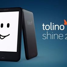 Чтения электронных книг Tolino Shine2 HD 300PPI читалка 6-дюймовый ink экран электронная книга 4 gb Оперативная память Подсветка поддержка WI-FI e-ink