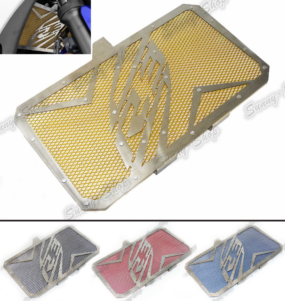 Standard Radiator Grille Protective Cover Grill Guard Protector For Yamaha YZF R3 2014 2015 2016 arashi motorcycle parts radiator grille protective cover grill guard protector for 2004 2005 2006 yamaha yzf r1