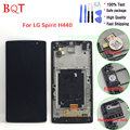 Best Quality H440 LCD for LG Spirit H440N H440 LCD Display Touch Screen Glass Digitizer Full Assembly with Frame