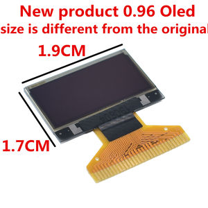 Image 2 - New product 0.96 inch OLED IIC White/YELLOW BLUE/BLUE 12864 OLED Display Module I2C SSD1306 LCD Screen Board for Arduino
