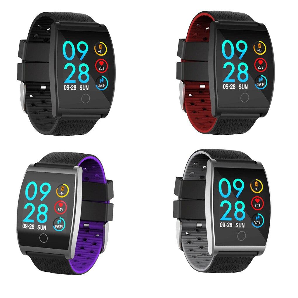 Fréquence cardiaque étanche Bluetooth caméra Bracelet intelligent Sport podomètre Fitness pression artérielle Calories Bracelet