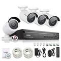 ANNKE 4CH NVR 960 P Ip-сети PoE Запись Видео ИК Открытый CCTV Камеры Системы Безопасности Дома видео Наблюдения комплект