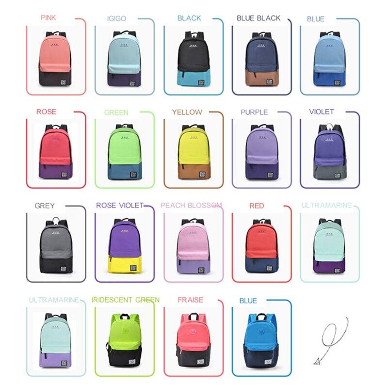 мода женщин рюкзак для детей школьный рюкзак для отдыха корейские женские рюкзак для ноутбука дорожные сумки для подростков школы обувь для девочек