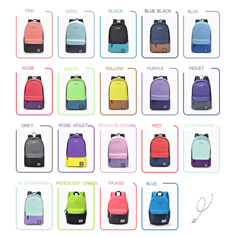 sacolas para escola meninas adolescentes School's Backpack Estilo : Leisure, fashion