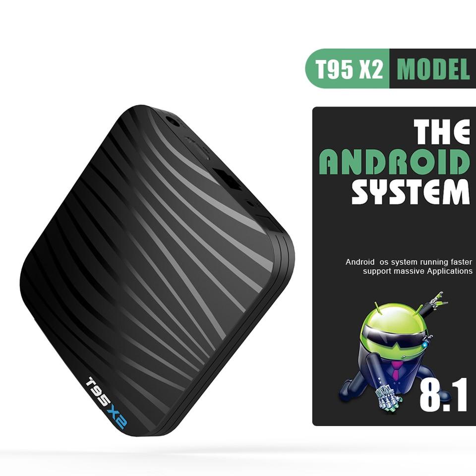 France IPTV Android Arabic Belgium Netherlands T95X2 Android 8.1 4+32G S905X2 4K H.265 Built In 2.4G WIFI IPTV Tunisia QHDTV Box (7)