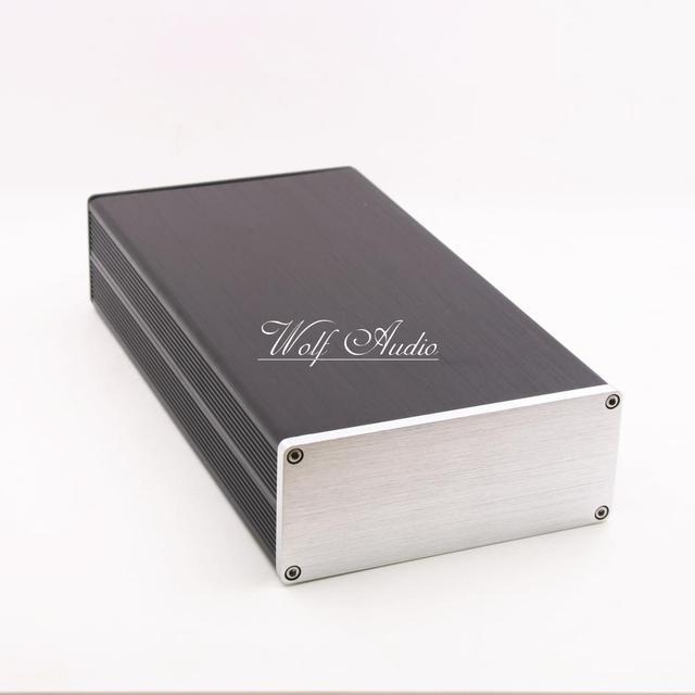BZ1306B алюминиевый корпус, тонкий корпус DAC мини аудио усилитель чехол усилитель шасси DIY блок питания