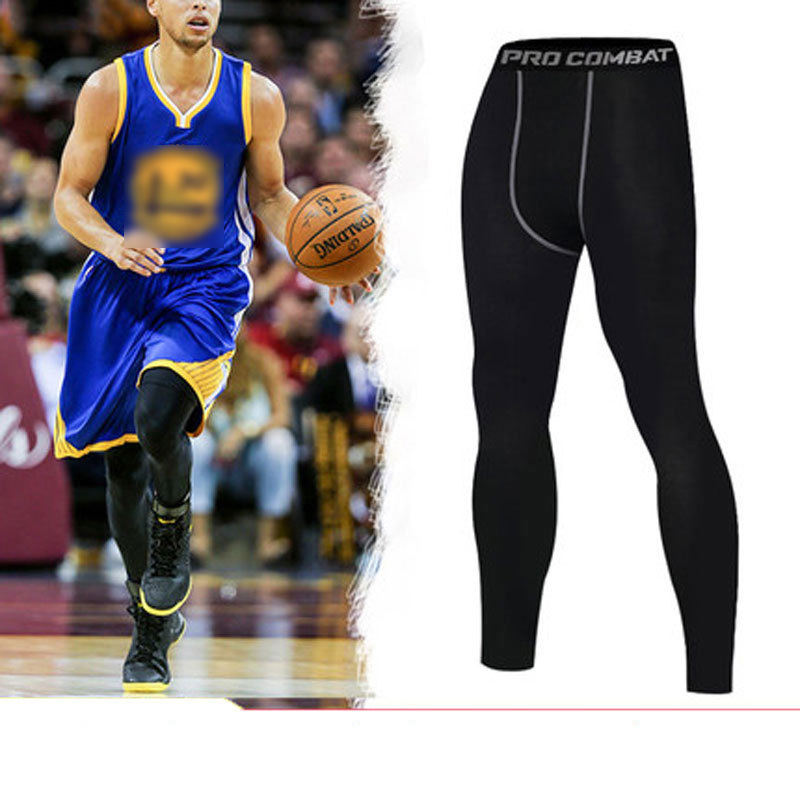 Basketball Compression Pants Sports Running Tights Men Jogging Leggings Fitness Gym Clothing Sport Leggings yoga leggings men недорого
