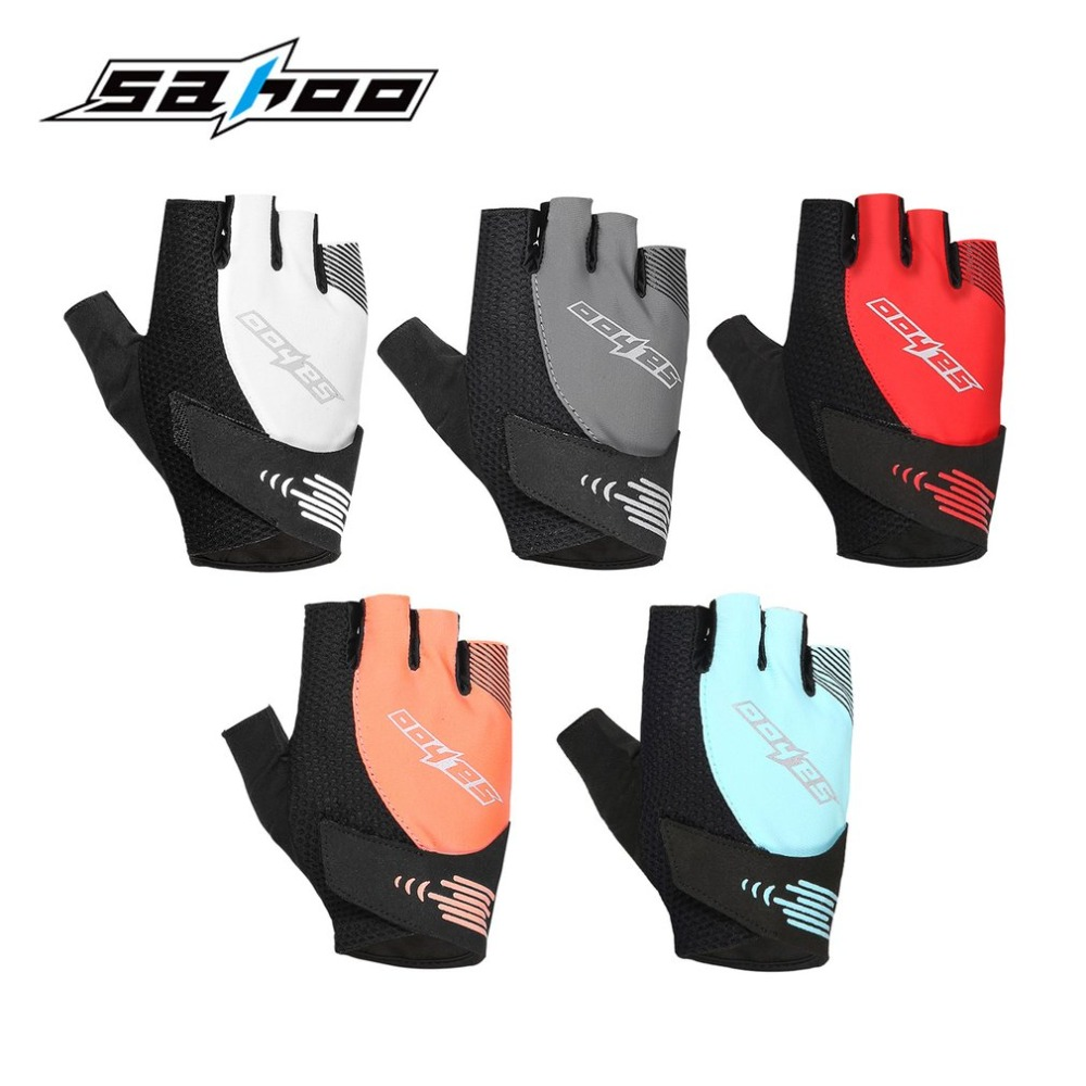 New Spring Winter Half Finger Cycling Gloves Adults Outdoor Bicycle Gloves Windproof touch screen Motor Gloves Bike Accessory