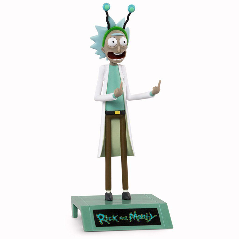 16cm Western Animiation Anime Rick and Morty Peace Among Worlds PVC action figure collection model toy free shipping anime rosario and vampire akashiya moka pvc action figure collection model toy 16cm