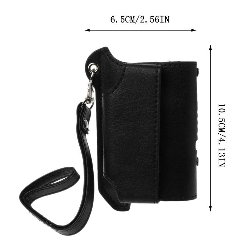 Image 5 - 2 in 1 Protective Case Cover Sleeve Holder Carrying Storage Box Lanyard Portable for iQOS 2.4 PLUS Electronic Cigaret hyq-in CD/DVD Player Bags from Consumer Electronics