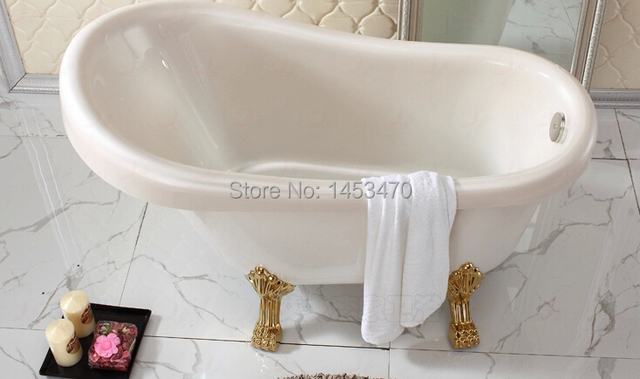 Empty Bathtub Size:1530x730x720mm The Imperial Concubine Bathtub  Independent Type Pearl Plate Bathtub