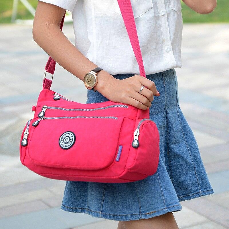 Women High Quality Handbag Bags Ladies Waterproof Solid Nylon Crossbody Bolsas Femininas Female Vintage Travel Shoulder Bags женские блузки и рубашки hi holiday roupas femininas blusa blusas femininas