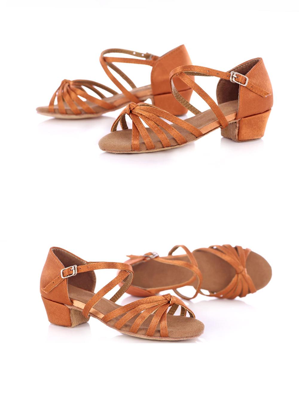 New Arrival Ballroom Tango Latin Dance Shoes High Quality Latin Woman Dancing Shoe Wholesale Women'S Heel Shoes Fast Shipping (13)