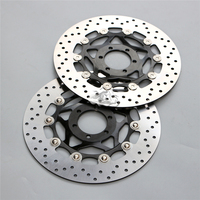 Floating Front Brake Disc Rotor For Motorcycle APRILIA RST 1000 Futura PW/e3/0057 2001 2005 02 03 04 New