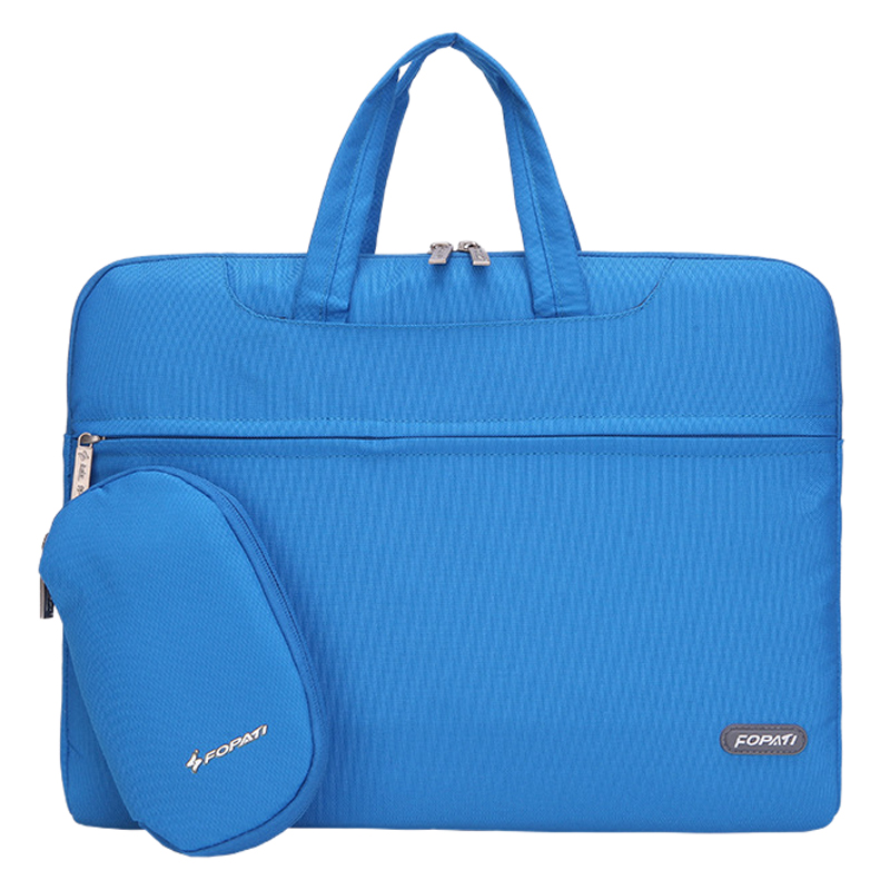 11 inch Laptop Bag Notebook Shoulder Messenger Bag Men Women Handbag Sleeve (Blue)